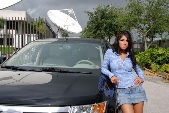 Alejandra Espinoza es la ganadora de Nuestra Belleza Latina 2007.