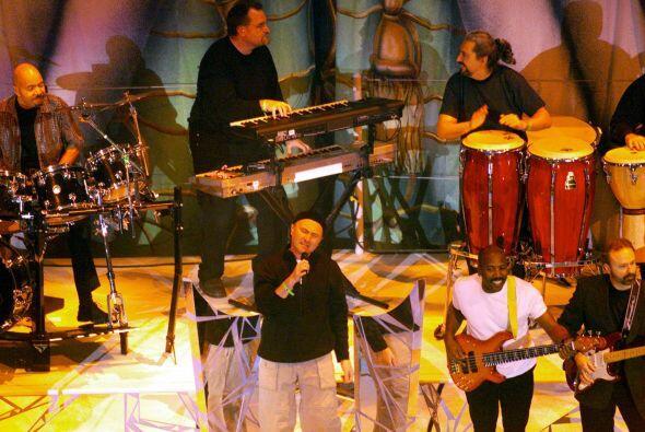 Phil Collins se presentó en el Georgia Dome de Atlanta como parte de las...