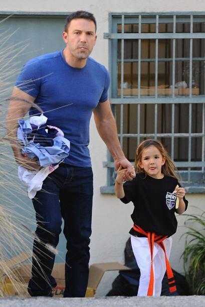 Ben Affleck está listo para este 14 de febrero.