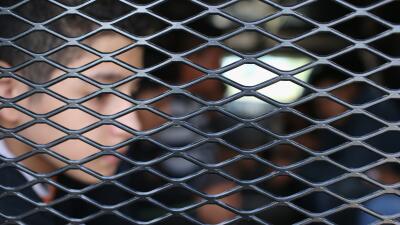 Niño migrante centroamericano detenido por la Patrulla Fronteriza en la...