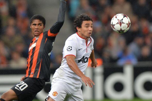 Manchester United no corrió con tanta suerte en casa del Shakhtar Donetsk.