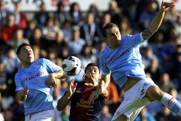 El chileno Alexis también fue titular y no tuvo mucho peso en el partido.