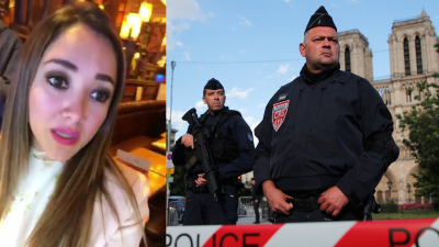 Sherlyn vivió muy de cerca el último ataque en París, y lo contó en Twitter