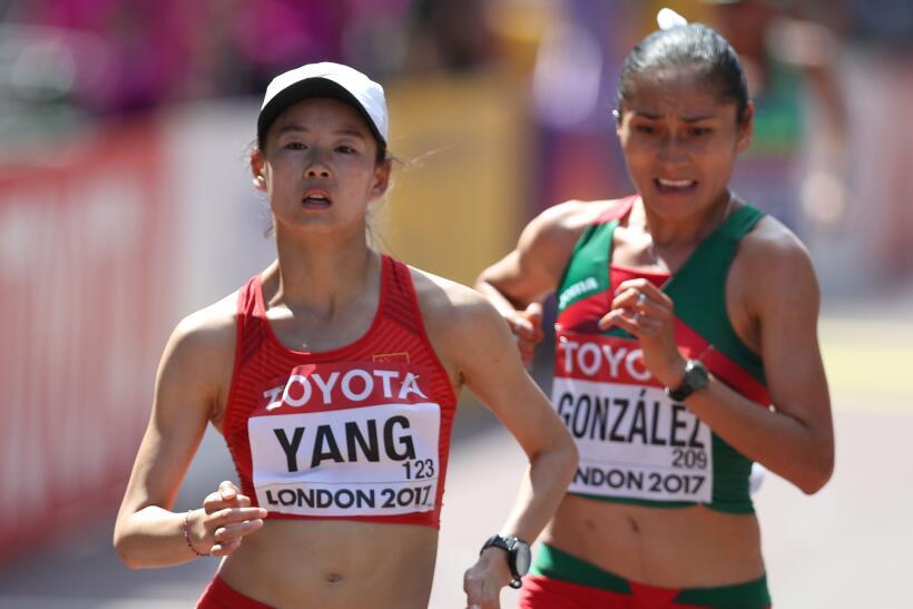 La mexicana Lupita González se convierte en subcampeona mundial en 20k c...