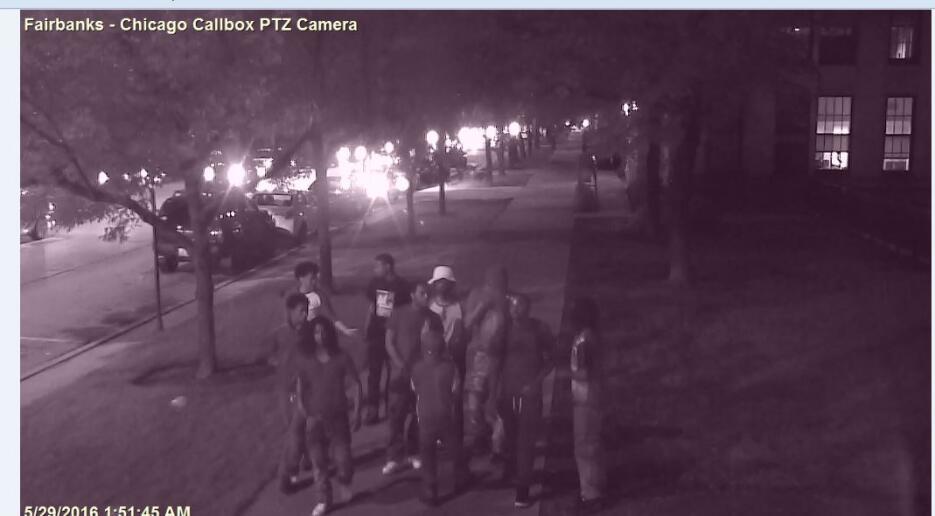 Sospechosos de intento de robo en Lake Shore Drive