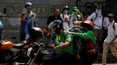En fotos: Aumentan las muertes en la represión contra las protestas en Venezuela