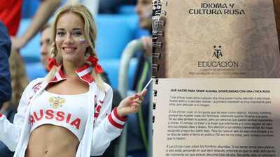Sancionan al autor del manual sexista argentino para conquistar mujeres en Rusia 2018