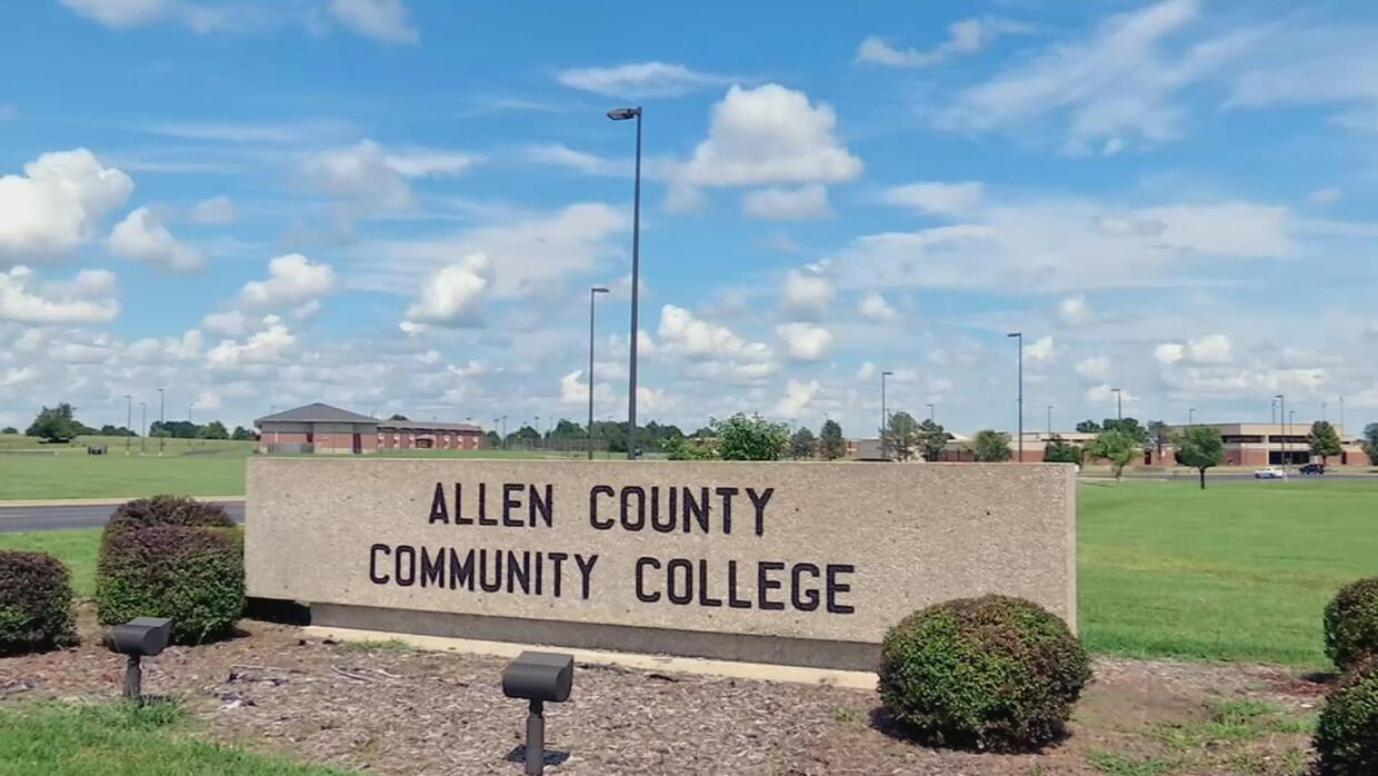 After a long journey, Allen Community College in Iola, Kansas, welcomes...