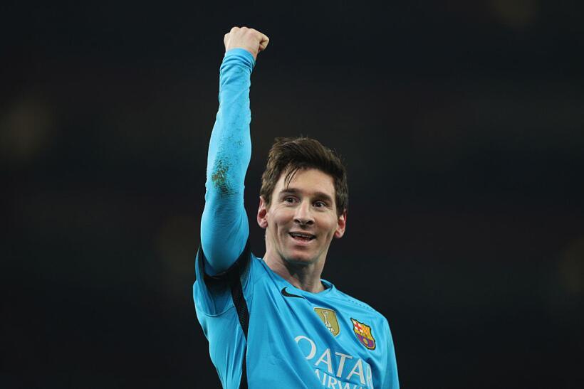 Lionel Messi ha jugado 7 partidos en la Champions League y aun es el seg...