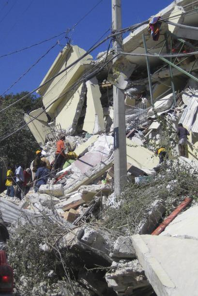 El 12 de enero de este año, un sismo de 7 grados en la escala de Richter...
