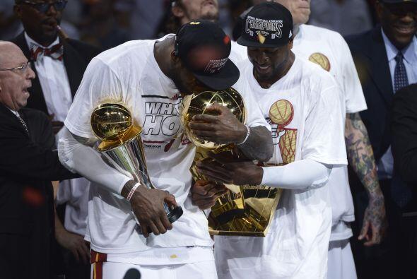 Otro campeonato remarcable fue el de Miami Heat al ganar por segunda vez...