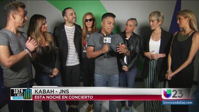 Danny Luna platico con Kabah y JNS