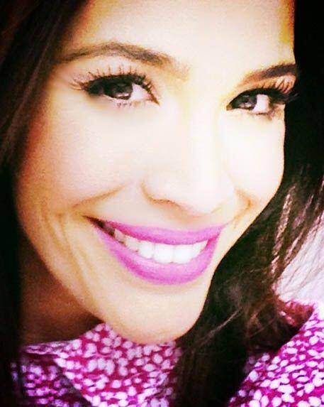 """""""Cada sonrisa recibida es el resultado de tu actitud"""", dijo Karla. (Abri..."""