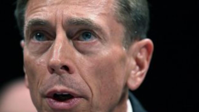 El ahora ex jefe de la CIA, David Petraeus.