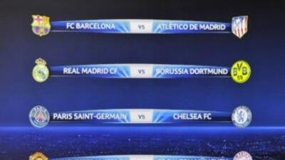 Así quedaron los cuartos de final de la Champions.