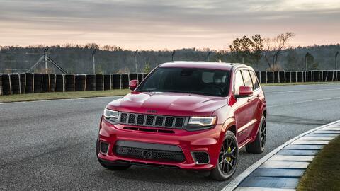 En video: La Jeep Grand Cherokee Trackhawk 2018 es la SUV mas ponderosa