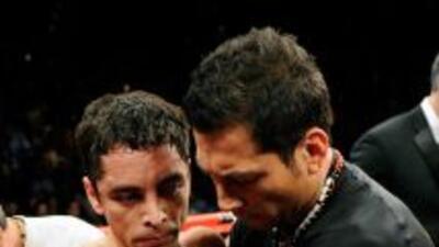 Montiel perdió por decisión unánime contra Terrazas.
