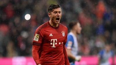 Lewandowski y Bayern fulminan a Hoffenheim