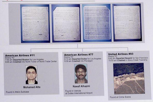 19 TERRORISTAS- Fue el número de terroristas que llevaron a cabo los ate...