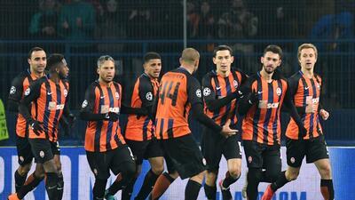 En fotos: Shakhtar Donetsk remontó y venció 2-1 a Roma en la ida de octavos en Champions