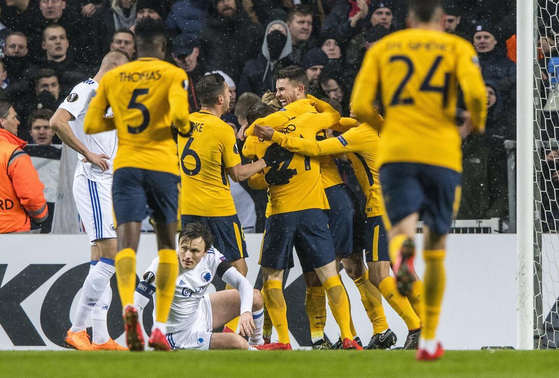 Copenhague 1-4 Atlético de Madrid: los dirigidos por Diego 'Cholo&#3...