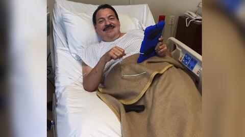 Julio Preciado, listo para ser operado