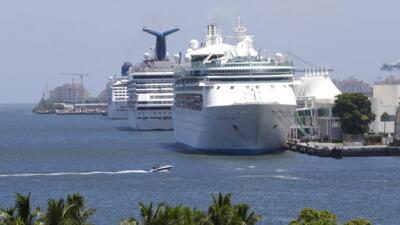 PortMiami es sede de cinco compañías de cruceros, seg&uacu...