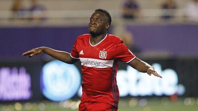 El ghanés David Accam del Chicago Fire asegura que no eligió la MLS por motivos de dinero