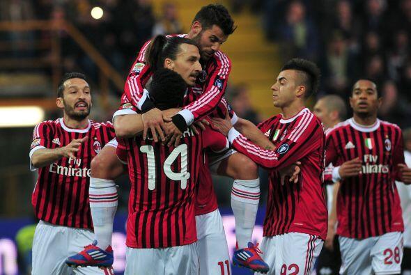 Milan ganó 2 a 0 y se aleja de la Juventus.