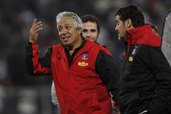 ´Qué te pasa nene´ parece decir el técnico América Gallego en el final d...