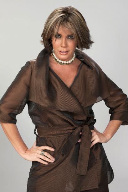 Luego de recuperarse de una enfermedad, Sabine regresó a las telenovelas...
