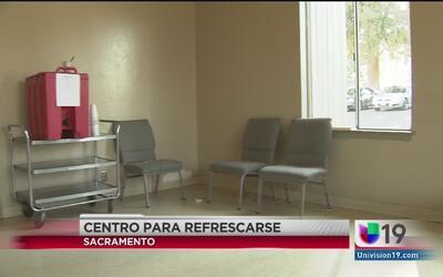 Centros de refresco para desamparados