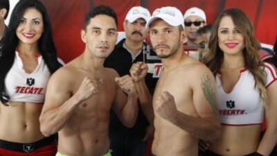 Montiel y Rodríguez en peso (Foto: Zanfer).