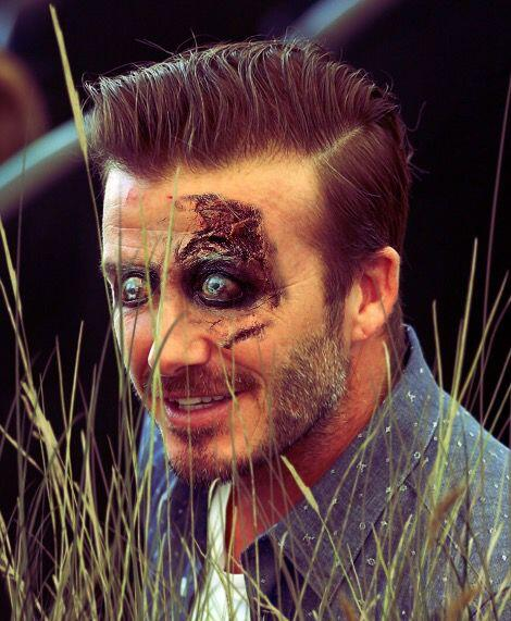 David Beckham, ex futbolista de Inglaterra que brilló con Manchester Uni...