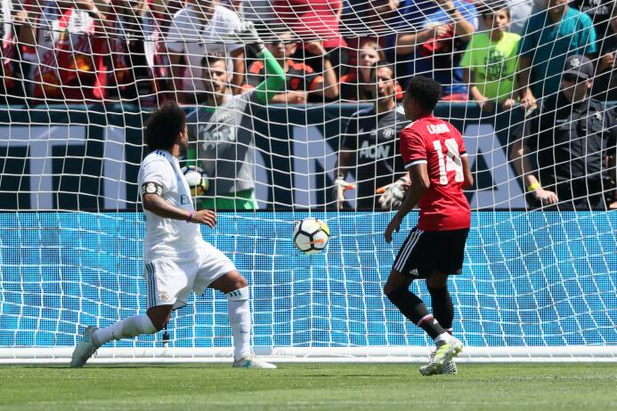 Mourinho le ganó el último duelo al Madrid, jugado en el Levi's Stadium...