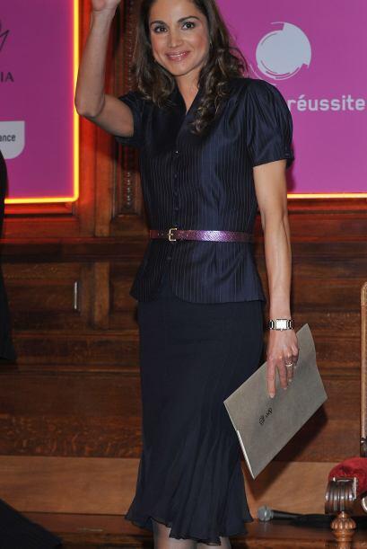 Tan pronto accedió al trono, la Reina Rania de Jordania deslumbró al mun...