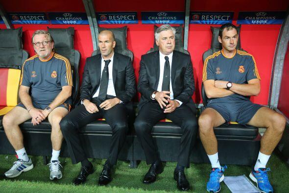 El Real Madrid de Carlo Ancelotti empezaba su andar por la Champions Lea...