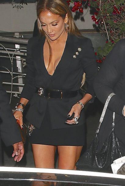 Jennifer Lopez y Casper Smart supuestamente habían terminado su relación...