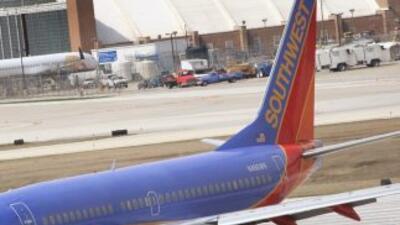 Un avión de Southwest Airlines se salió de la pista en el Aeropuerto O´H...