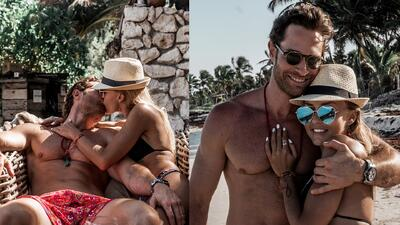 Sebastián Rulli revela por qué se ven tan bien sus fotos de vacaciones con Angelique Boyer (y mata algunos rumores)