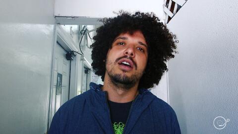 El rapero y médico PJ Sin Suela.