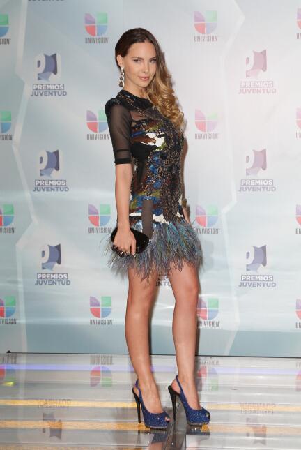 Belinda, en la alfombra roja de los Premios 2012.
