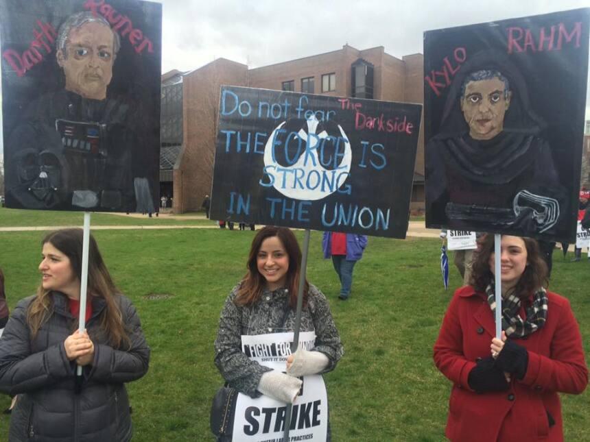 Apoyo a los maestros de Chicago