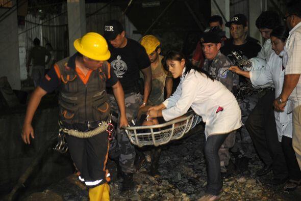 Según una fuente de la minera ecuatoriana Minesadco, a cargo del yacimie...