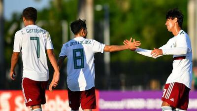 México y Estados Unidos ya tienen rivales para la segunda etapa del Premundial sub 20