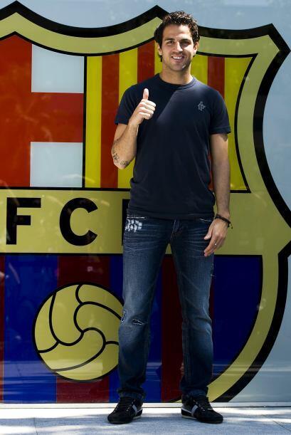 Cesc Fàbregas fue presentado como su nuevo refuerzo.