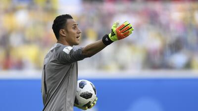 "Keylor Navas tras la derrota con Brasil: ""Nos vamos con la frente en alto"""