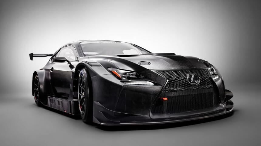 Este es el nuevo Lexus RC F GT3