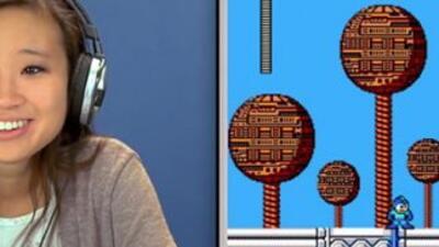 Teens play Mega Man