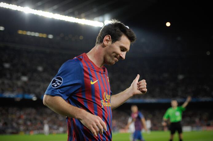 Temporada 2011/2012 - Lionel Messi (F.C. Barcelona) con 14 goles.
